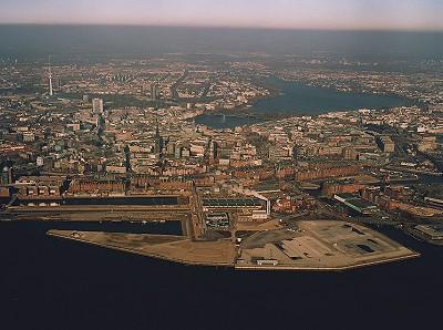 Hafen city dezember 2003