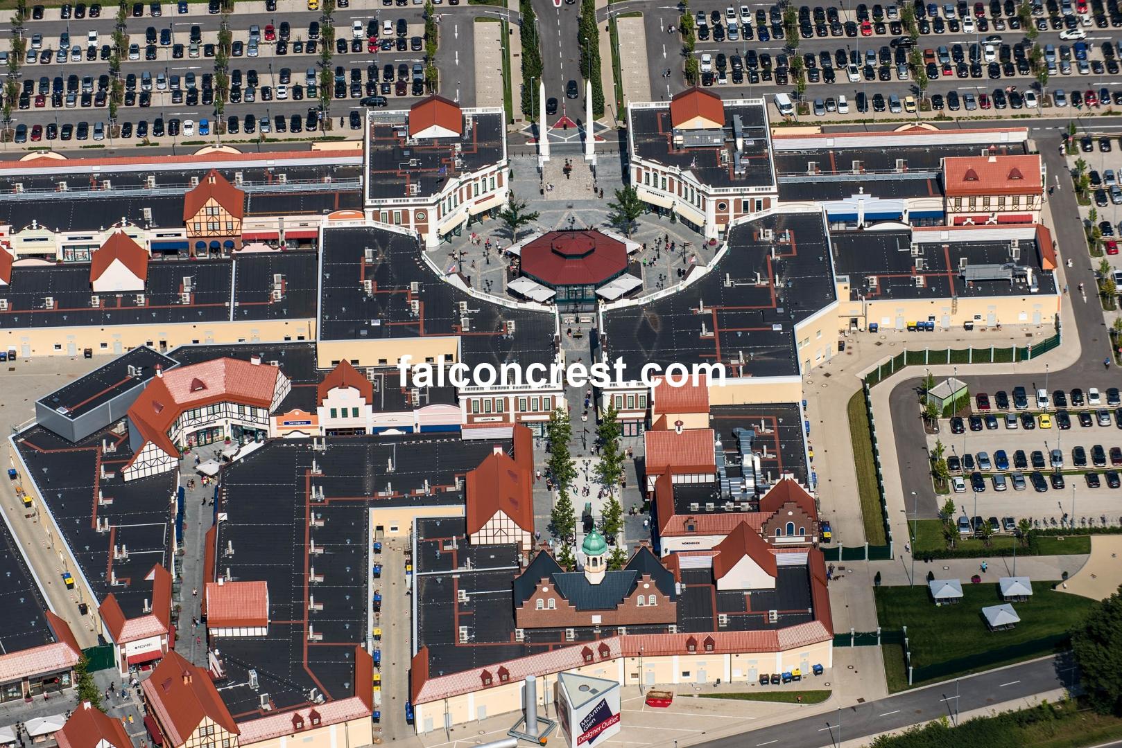 Luftbilder Und Luftbildvideos Neum Nster Outlet Center